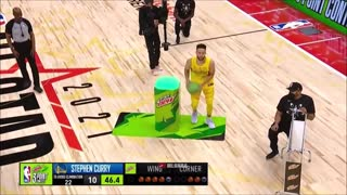 Curry Unseen Footage 3 Point Contest