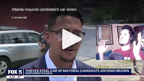 Defund The Police Mayoral Candidate Car Stolen By 'Children!'   Antonio Brown