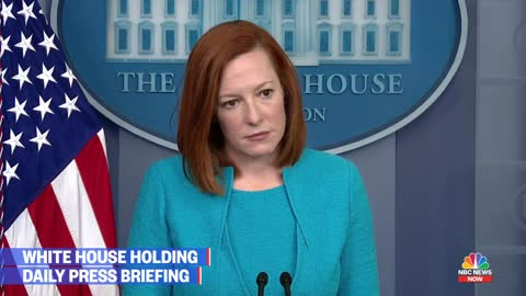 Reporter Confronts Psaki Over Treatment of Illegals vs. Our National Guard