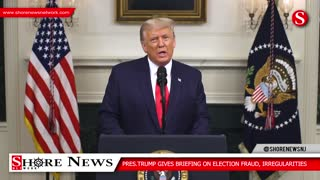 Trump talks about election fraud openly for first time in detail