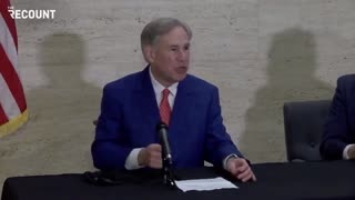 Greg Abbott Has BRUTAL Message For Big Tech Tyrants