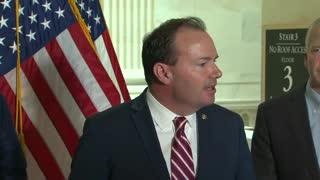 Senator Lee's Remarks at Israel Press Conference