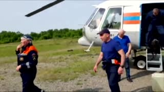 Russian rescuers find site of deadly plane crash ...!!!