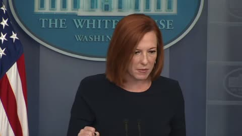 """Psaki cites the """"big lie"""" in the push for expansive federal voting legislation"""