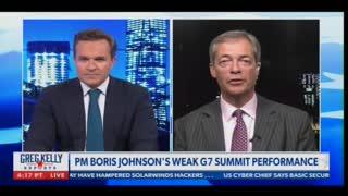 Nigel Farage Destroys Joe Biden on G7 Performance