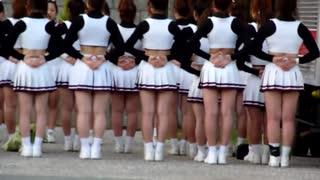 Kyoto cheerleaders, Japan