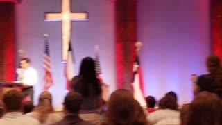 Charlie Kirk at Texas Youth Summit