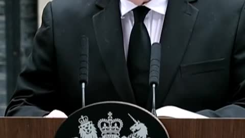 BRITISH Prime Minister BORIS JOHNSON SPEECH