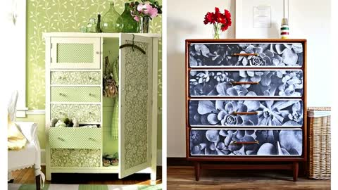 How To Combine Wallpaper And Use Their Leftovers For The Decor of The Apartment