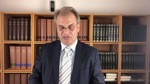 dr Rainer Fulmich recap zadnjih godinu dana saslušanja - Engleski