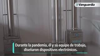 Nico, el robot santandereano que desinfecta cualquier entorno