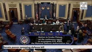 Senate passes sweeping defense bill