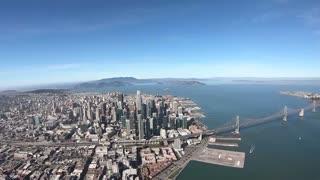 Flying the San Francisco Shoreline