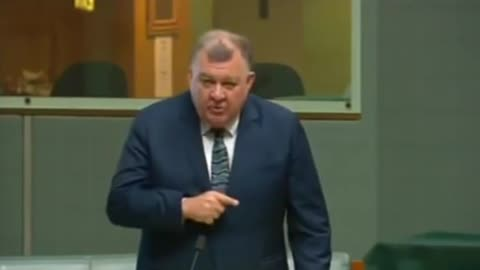 Craig Kelly is censured in parliament for talking about Ivermectin