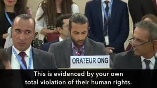 U.N. : YOU ARE THE ENEMY OF THE PALESTINAN PEOPLE