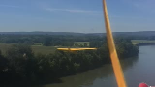 Formation Flight Down the River