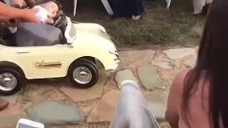 when Kids add some comedy to a wedding!