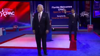 The Great Governor Desantis speaks at CPAC
