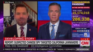 Dem Swalwell Says Relationship With Chinese Spy 'Classified'