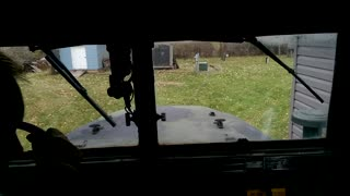 M35A2 driving from Menards to Home