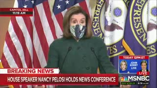 Pelosi to Republicans: the Enemy is in the House