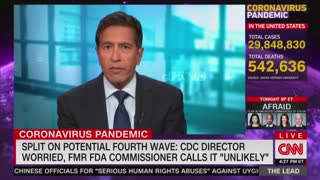 CNN's Sanjay Gupta Speaks With Jake Tapper About A Fourth Surge Of The Coronavirus