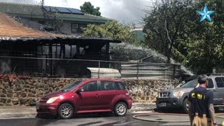 Honolulu home fire displaces 8