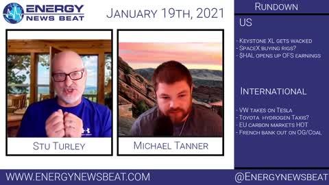 Energy News Beat 1/19/2020 - Stock Market Daily Update