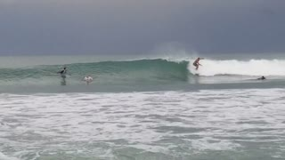 Surfing the Treasure Coast Florida after storms