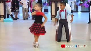 Child Nice Couple Dance