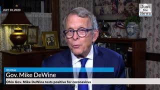 Ohio Gov. Mike DeWine tests positive for COVID-19