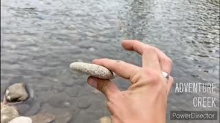 Rock Skipping!