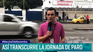 Así avanza la jornada de protestas en Bucaramanga
