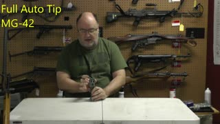 Full auto tip for the MG-42