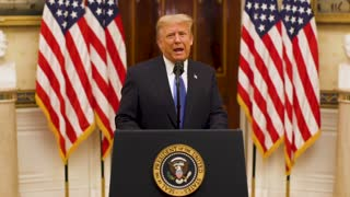 President Donald Trump Farewell Address on his final day in Office