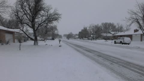 Snowfall In Winter