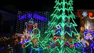 Christmas Lights and huge display
