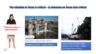 Texas storm- Tormenta de Texas