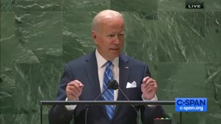 Biden Confuses The United Nations For The United States In UN Address