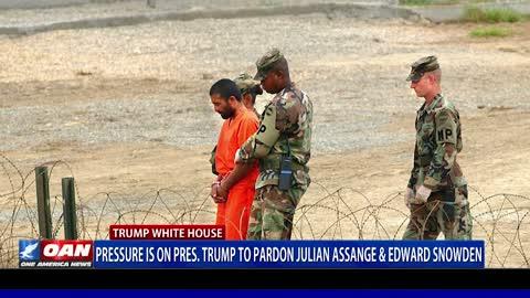 Pressure is on President Trump to Pardon Julian Assange and Edward Snowden