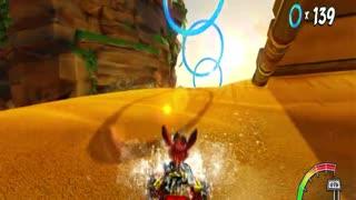 Crash Team Racing Nitro Fueled - Crash Cove Ring Rally Gameplay