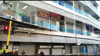 Autoridades realizan operativo anticontrabando en San Andresito Centro, en Bucaramanga