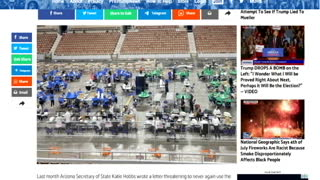 ARIZONA FORENSIC AUDIT BLOWS UP MARICOPA COUNTY!