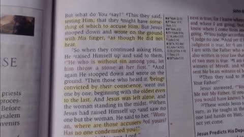 Bible study (John 8:1-12) NKJV