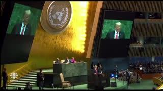 Donald Trump speach 2019 United Nations