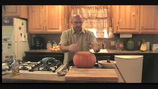 Pumpkin Bread, Pumpkin Seeds, and Jack-o-lantern
