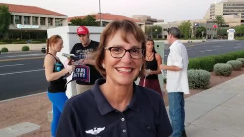 Wendy Rogers Talks Audit & Afghanistan in Phoenix AZ