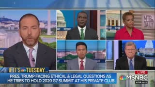 Chuck Todd blames his fatigue on Trump
