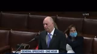 """Savage Moment When Rep. Finishes Speech With """"Let's Go Brandon"""" Live On CSPAN"""