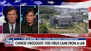 Coronavirus whistleblower speaks out about possible COVID origin on 'Tucker'